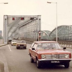 Rotterdam: De Willemsbrug 1981
