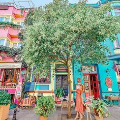 Colorful corner ~ Istanbul, Turkey  Photo: @izkiz Congrats!   ➡Founders: @ournextflight ⬅ TAG someone you love   #living_destinations #istanbul #turkey #igersturkey #beautifulplaces #turkeystagram #ig_turkey #turkeyphotooftheday #travel  #places_wow #travelphotography #city #cityscape #postcardsfromtheworld  #loves_landscape #naturelovers #architecture