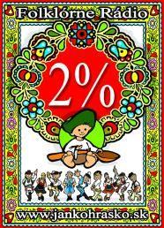 Darujte 2% a staňte sa sponzorom folklóru