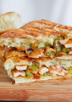 Chicken Fajita Sandwiches - turn an old favorite into a gourmet sandwich.