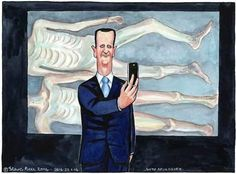 22.01.14: Steve Bell on evidence of 'systematic killing' in Syria via @The Guardian