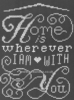 Buy+Home+Chalkboard+Cross+Stitch+Kit+Online+at+www.sewandso.co.uk