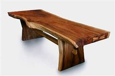 Live edge is a growing trend. Learn what is live edge wood & its types. Also, discover cool live edge wood decorating ideas for inspiration. Live Edge Furniture, Log Furniture, Woodworking Furniture, Unique Furniture, Kids Woodworking, Woodworking Classes, Cheap Furniture, Woodworking Projects, Wood Slab Table