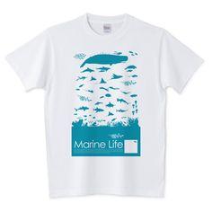 Marine Life | デザインTシャツ通販 T-SHIRTS TRINITY(Tシャツトリニティ)