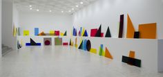 A intersection B intersection C, 2013, installation view Museo Tamayo, Mexico City, MX