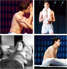 it should be illegal for aaron tveit to ever wear clothes....