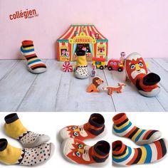 Pel cap de setmana, ideals les sabates d'estar per casa de @collegien_officiel! Son com un còmode mitjó amb sola de goma transpirable, no rellisquen, son flexibles i es poden posar a la rentadora! Ens encanten. #nens #kids #instakids #kidsshoes #houseshoes #zapatillas #pantunflas #calcetines #calcetinesmolones #collegien #instashoes #kidsfashion #fashionchildren #BabyFashion #babyshoes #Moccs #Babymoccs