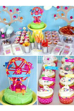 A Luna park party idea!!! COOL