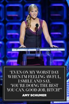 9 kick-ass, inspiring quotes from Amy Schumer that every woman should read: