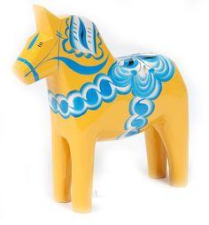 Yellow Dala Horse