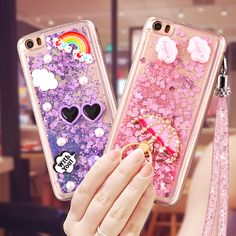 Xiaomi mi 5 case Liquid flow sand xiaomi 5 luxury rhinestone stand holder back cover for xiaomi mi 5 mi5 phone case + Lanyard #Affiliate