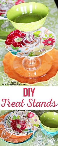 DIY Treat Stands