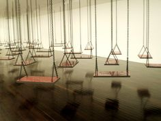 Mona Hatoum 'Suspendu' (Hanging), 2009-10 (Museum of Contemporary Art), Paris