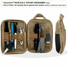 E.D.C. Pocket Organizer Foliage Green