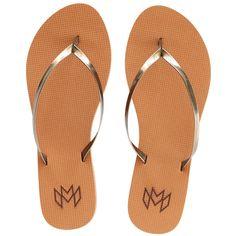 9bdc4eed05bd Malvados Lux in Henna colored diamond textured flip flop with vegan  metallic strap. MALVADOS Flip Flops   Sandals