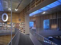 Musashino Art University Library by Sou Fujimoto Architects x2