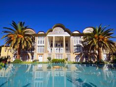 Shiraz, known as the city of love and Persian poetry, is another city tourists love. It's home to the historic Eram Garden (Garden of Paradise).