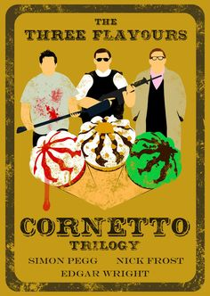 Cornetto trilogy - Nick Frost