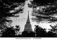pagoda in temple. thailand.
