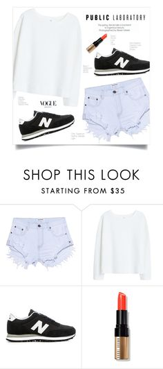 """""""Public Laboratory"""" by fleur-353 ❤ liked on Polyvore featuring One Teaspoon, MANGO, New Balance and Bobbi Brown Cosmetics"""