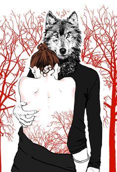 Anna Kapustenko / Chaperon Rouge et Loup