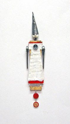 Mixed Media Art Doll I22 by Indiandollartworks on Etsy, $42.00