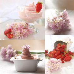 Bocados dulces y salados: ESPUMA DE FRESAS THERMOMIX