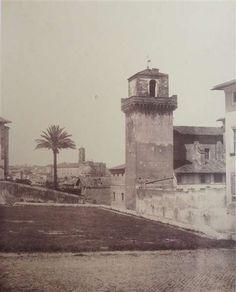 1860/65 De Bonis Adriano . San Pietro in Vincoli - vista panoramica verso il Campidoglio.