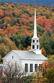 Stowe,  Vermont....such beautiful fall colors!