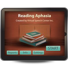 The Reading Aphasia app was created by a certified speech and language pathologist for adults and children who struggle with reading comprehension. Speech Pathology, Speech Therapy Activities, Speech Language Pathology, Speech And Language, Literacy Activities, Aphasia Therapy, Reading Comprehension Skills, Speech Room, Reading Intervention