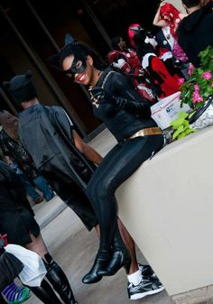 1966 Catwoman costume. by SatMornCreations on Etsy