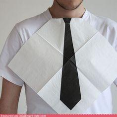 napkin/tie