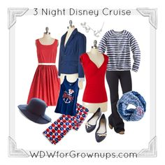 3 Night Disney Cruise Capsule Wardrobe.  Chic and easy packing! Style Saturday #DisneySide
