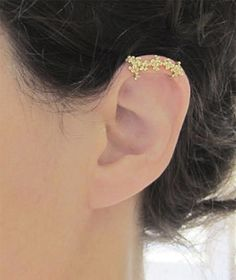 Gold Plated Ear CuffGold Plated Sterling SilverDainty by MayaMor, $74.00