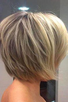 Short Bob Layered Haircut