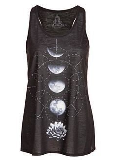 Womens Black Lotus Flower Moon Phases Yoga Loose Fit Tank... https://www.amazon.com/dp/B01FWHIOW6/ref=cm_sw_r_pi_dp_SwbHxbXTSEQC3