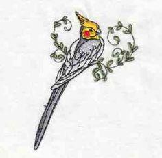 Cockatiel sewing pattern