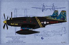 Tommy Anderson - F-82F Twin Mustang - Oil