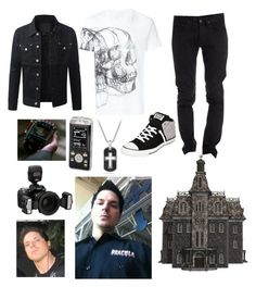 """Zak Bagans"" by fallingintheveilwithsirens333 ❤ liked on Polyvore featuring art"