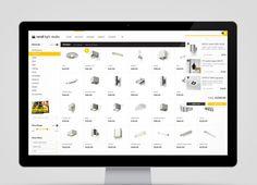 Rendl Brand Identity and Website Design by Higher  #webdesign #inspiration #UI
