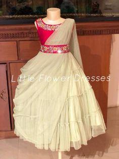 Kids Kids Party Wear Dresses, Kids Dress Wear, Kids Gown, Dresses Kids Girl, Baby Dresses, Birthday Dresses, Kids Indian Wear, Kids Ethnic Wear, Baby Dress Design