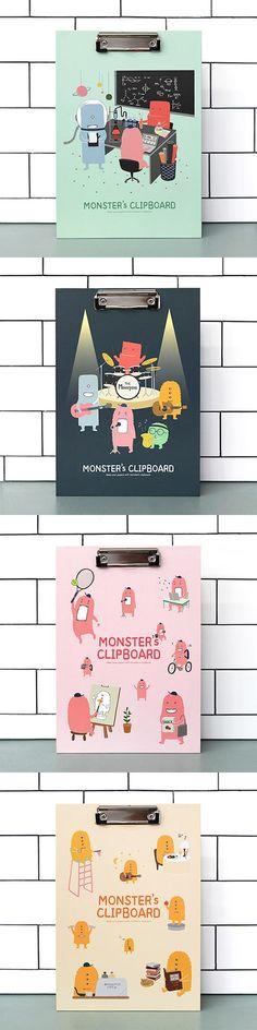 Monster Clipboard