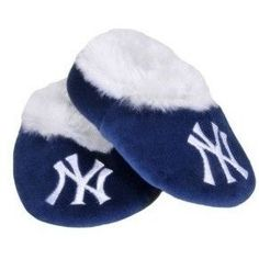 uk availability 4a334 f4131 MLB Baby Booties Shoe Slippers New York Yankees