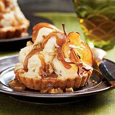 Caramel Apple Ice Cream Tarts