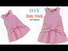 Diy Designer Baby Frock Cutting And Stitching Full Tutorial Frocks For Babies, Baby Girl Frocks, Frocks For Girls, Baby Girl Dresses Diy, Baby Girl Skirts, Baby Girl Frock Design, Baby Top Design, Baby Girl Dress Patterns, Baby Frocks Designs