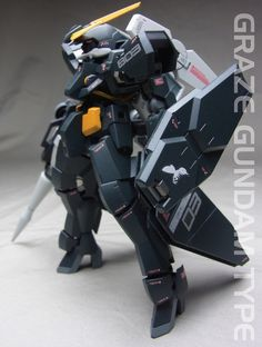 Custom Build: HG 1/144 Graze [Gundam Type] - Gundam Kits Collection News and Reviews