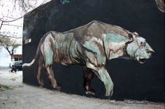 Jaz's Collection — the Museum of Urban Art Graffiti, Outdoor Art, Urban Art, Les Oeuvres, Street Art, Moose Art, Horses, Painting, Animals
