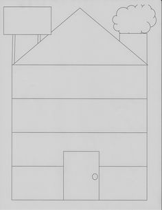 DBT House (see blog for template of information to go in each level)