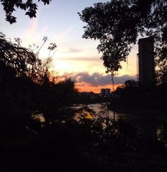 Sunset Blumenau.
