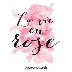 La vie en rose - Par Micaela Kim via Instagram http://ift.tt/1OK7yn5 Alliance Française de Buenos Aires (Siège)
